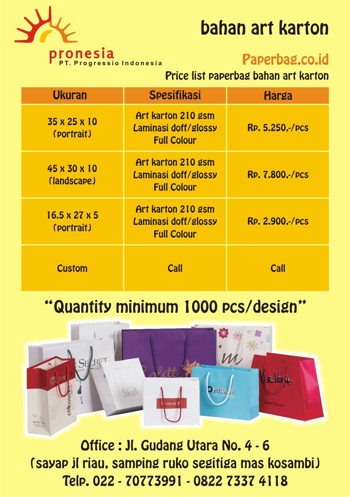 paperbag promosi